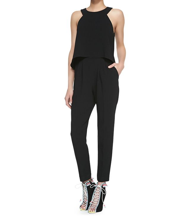 Trina Turk Kaitlyn Crepe Sleeveless Jumpsuit ($378)