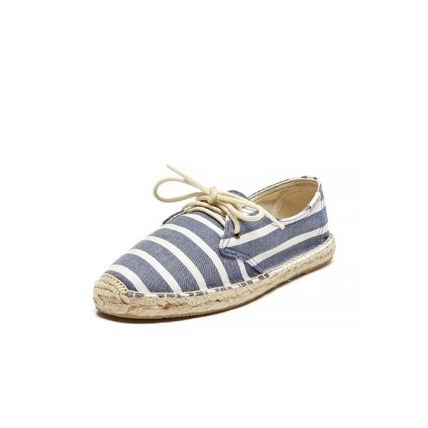 Soludos Classic Stripe Lace Up Shoes
