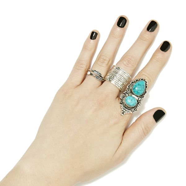 Nasty Gal Dirty Dozen Ring Set