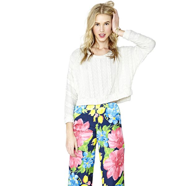 Nasty Gal Full Bloom Pants