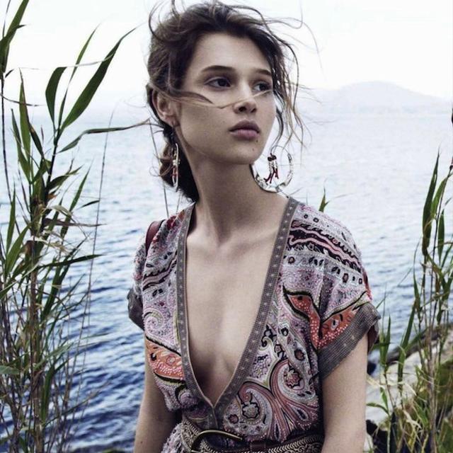 Anaïs Pouliot In Romantic Boho Summer Looks For L'Officiel Paris