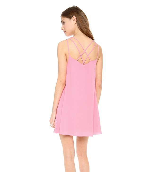 Lovers + Friends Sweet Sensation Dress ($143) in Pink