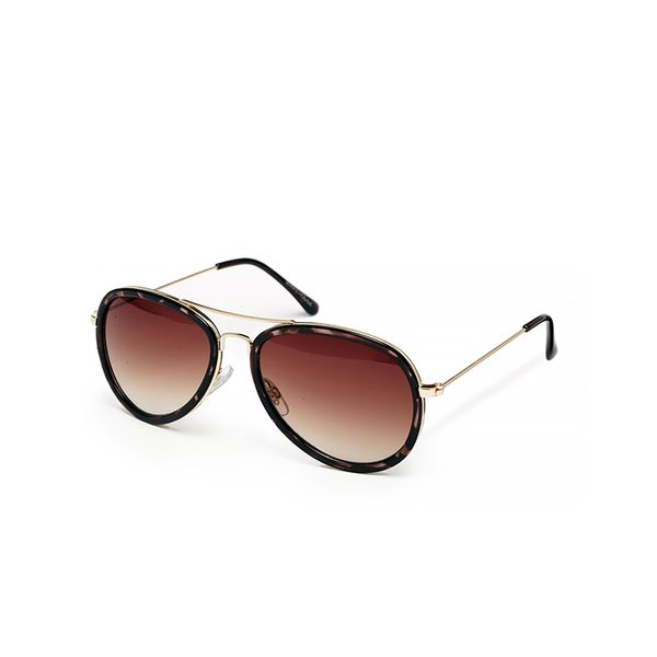 Warehouse Tort Vintage Frame Sunglasses