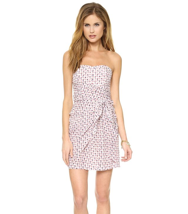 Club Monaco Harper Dress ($229) in Flowerburst Dots