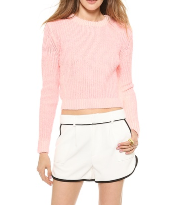 Torn by Ronny Kobo Brisa Chunky Sweater