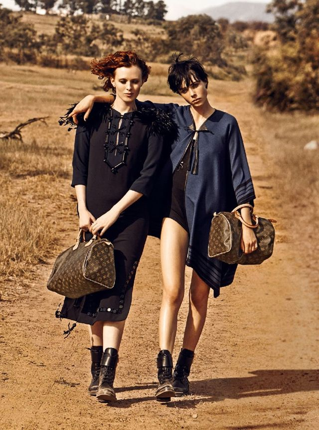 New Shots From Louis Vuitton's 'The Spirit Of Travel' Campaign