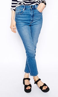 ASOS Farleigh High Waist Mom Jeans