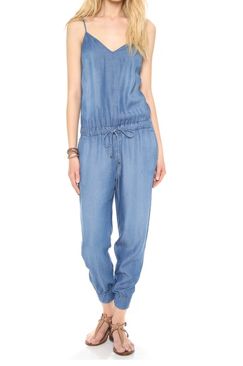 Splendid Chambray Jumpsuit