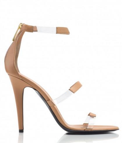 Tamara Mellon Frontline Nappa PVC Heels