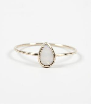 Catbird Teardrop Ring