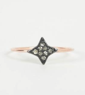Catbird Dark & Stormy Star Ring