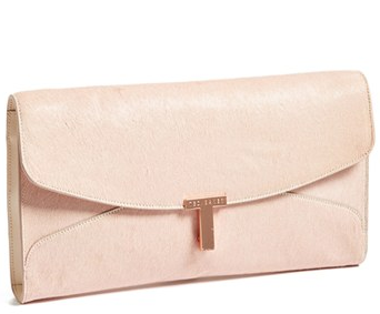 Ted Baker London T Clasp Maxi Clutch