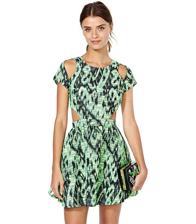 Nasty Gal Hyper Threat Tweed Dress ($128)
