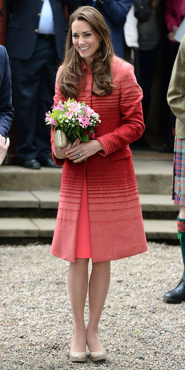 Kate Middleton Gives Us Serious Coat Envy In Jonathan Saunders