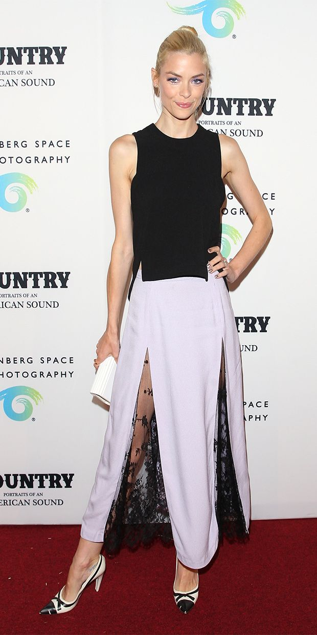 Jaime King's Red Carpet Look Is Sheer Genius
