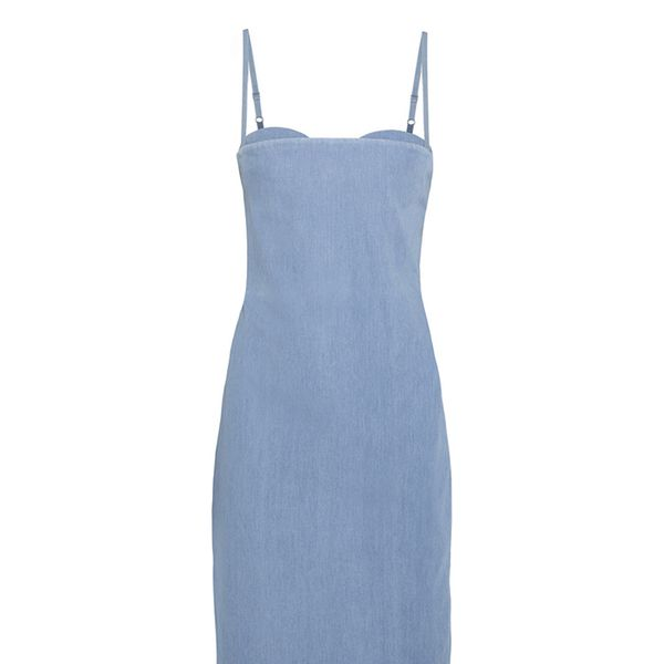Acne Studios Thelma Cotton-Chambray Dress
