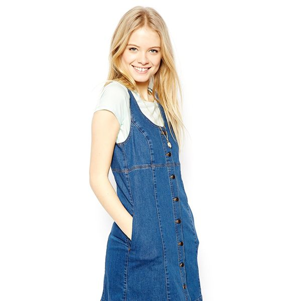 ASOS Denim Button Through Dress