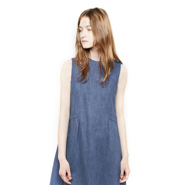 Charles Anastase Nico Denim Dress
