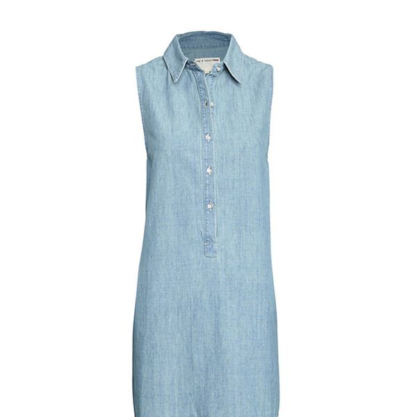 Rag & Bone Jean Perfect Sleeveless Tent Dress