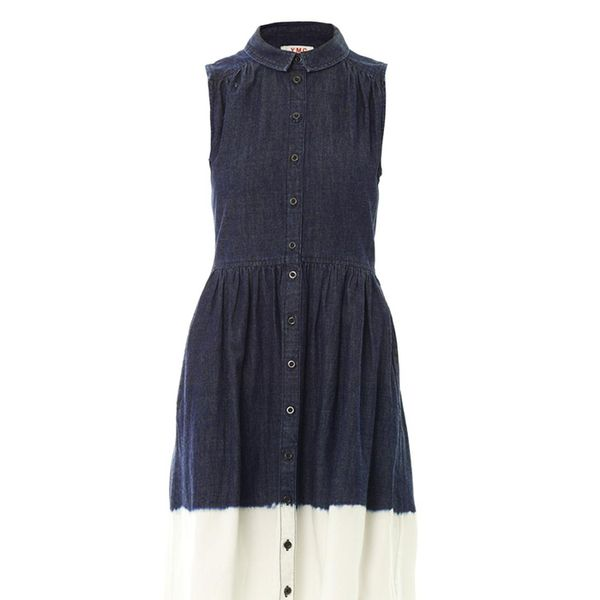 YMC Dip-Dye Denim Dress