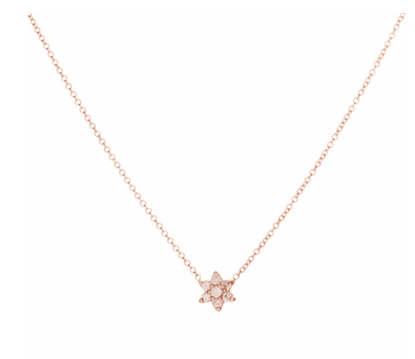 Ariel Gordon Mini Diamond Floret Necklace