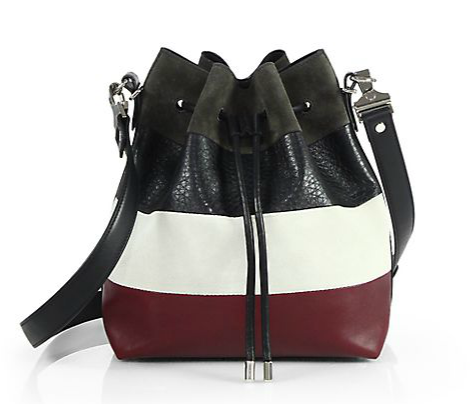 Proenza Schouler Mixed Media Bucket Bag