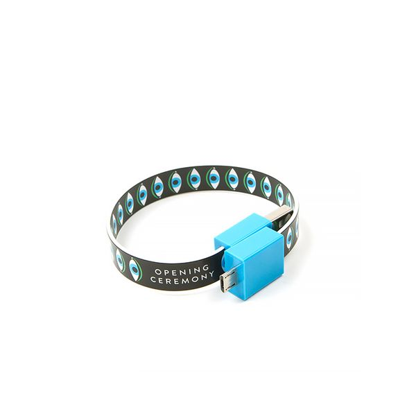 Mohzy x Opening Ceremony Eye iPhone 5 USB Bracelet