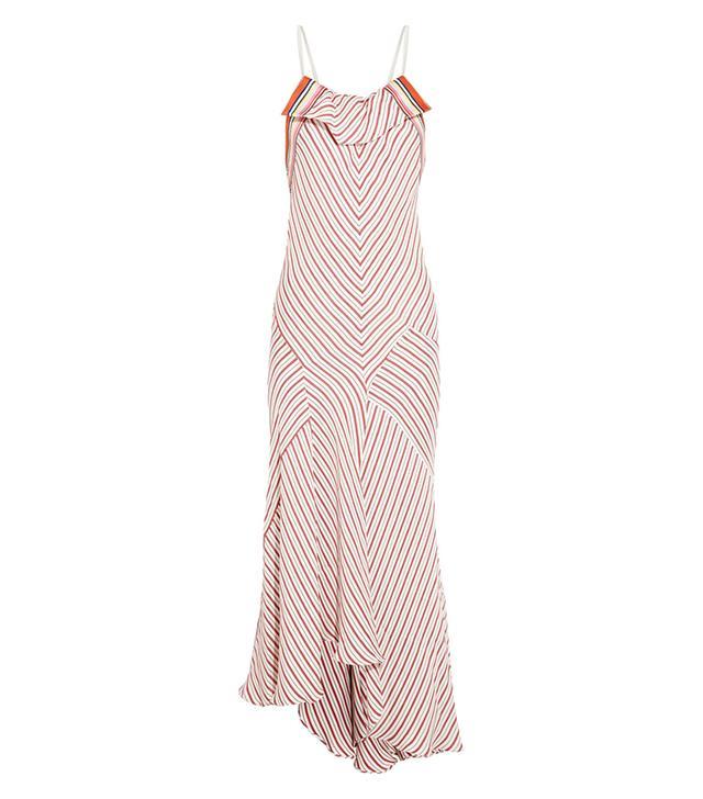 Chloe Striped Crepe Dress ($3070)