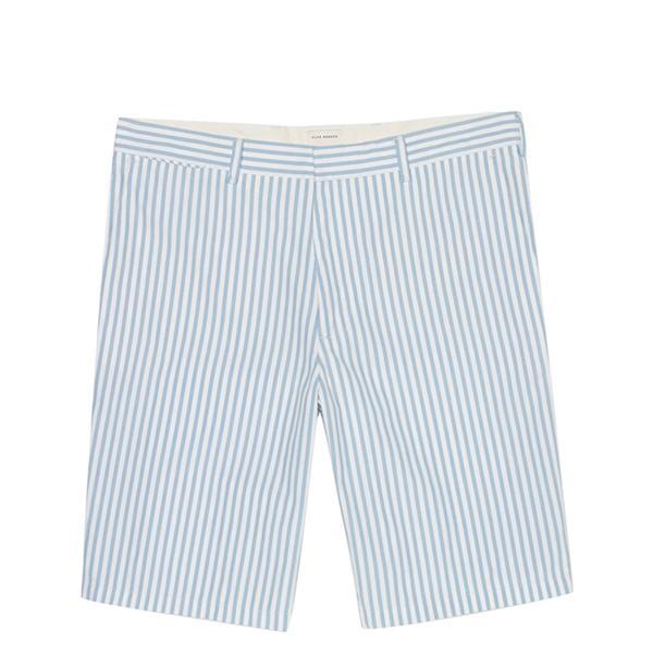 Club Monaco Butcher Stripe Shorts