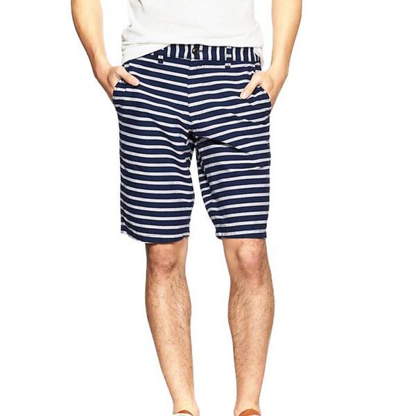 Gap Oxford Striped Shorts