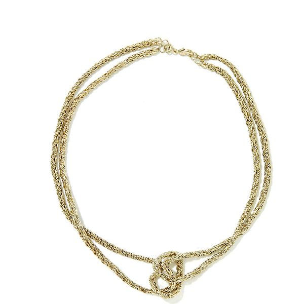 Nasty Gal Knot It Necklace