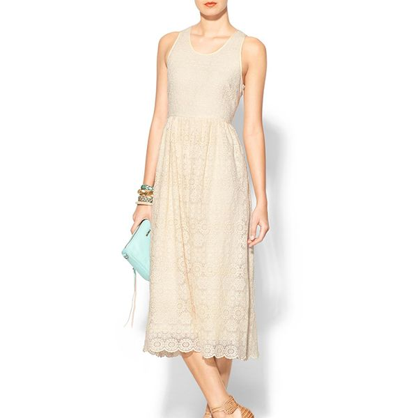 Sunday In Brooklyn Lace Midi Dress
