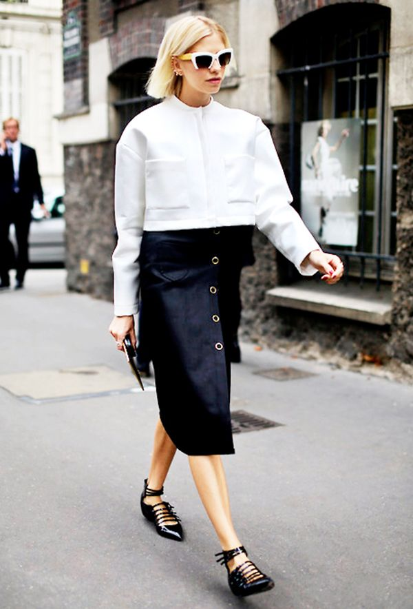 Just try and tell us this black and white look isn't totally sharp.