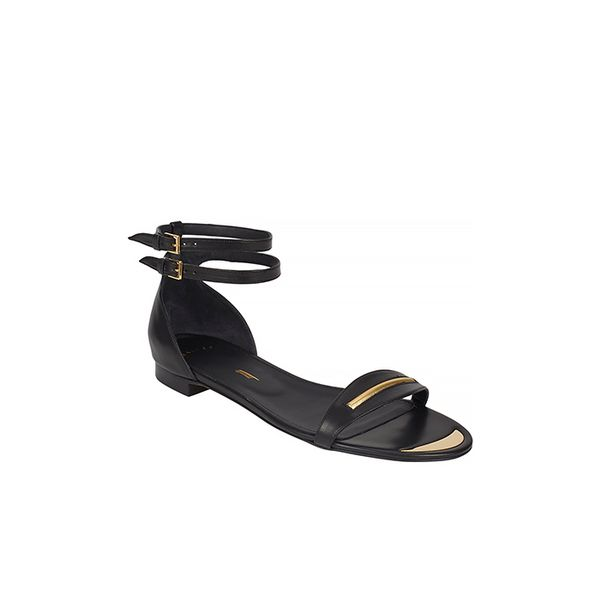 Maiyet Double Ankle-Strap Flat Sandals