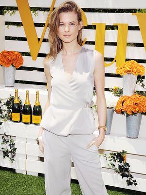 Behati Prinsloo & More Get Their Prep On At Veuve Clicquot Polo Classic