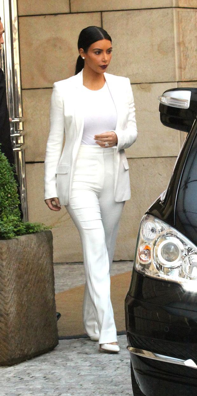 Kim Kardashian Is White Hot On Her Honeymoon