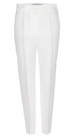 Stella McCartney Jacquard Straight-Leg Trousers