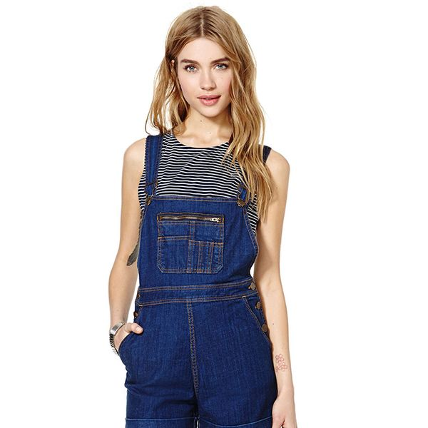 Nasty Gal Courtshop Overall Shorts