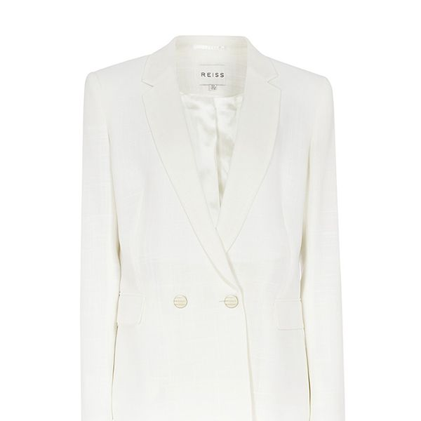 Reiss Gold Button Blazer