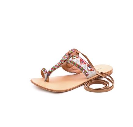 Antik Batik Adonis Beaded Sandals