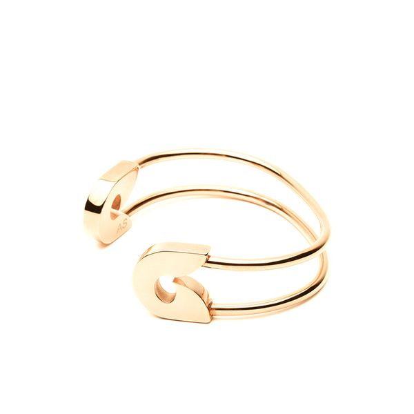 Amber Sceats Safety Pin Cuff