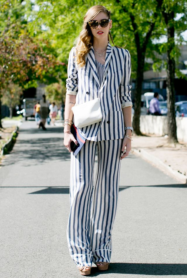 Yes, vertical stripes work. 