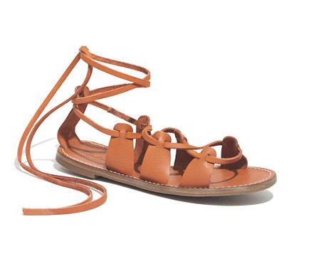 Madewell The Gladiator Sightseer Sandals