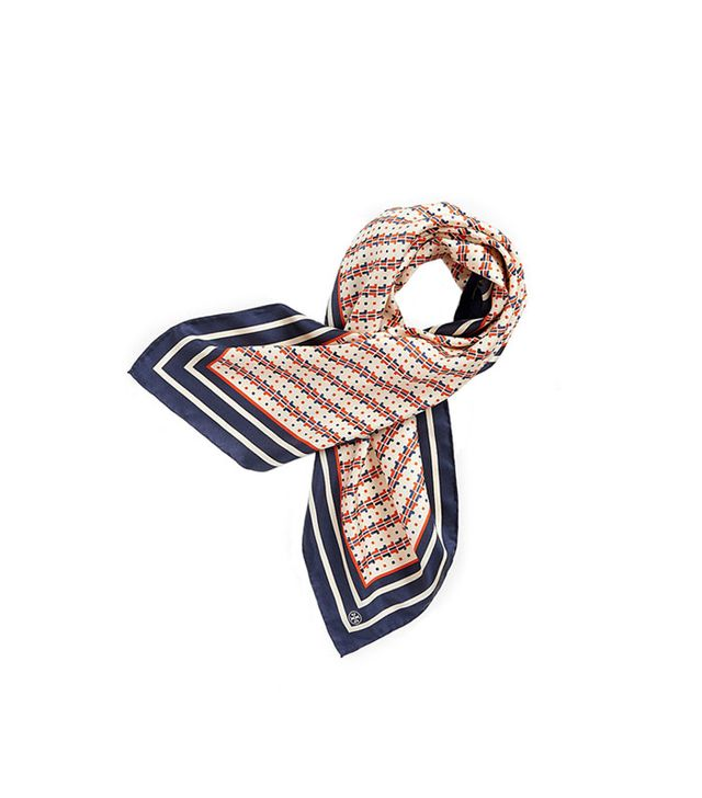 Tory Burch T Dot Square Scarf