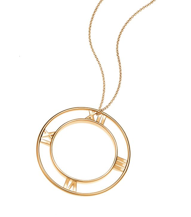 Atlas® Round Pendant in 18k gold