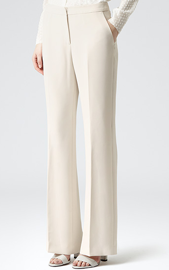 Reiss Nisa Wide Leg Trousers