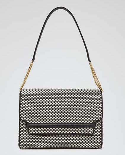 Reiss Lara Weave Handbag