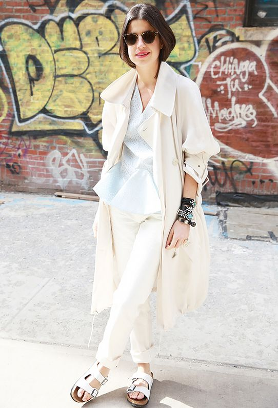 Key Styling Piece: 7 For All Mankind Josefina Roll Up Jeans ($169) in Clean White