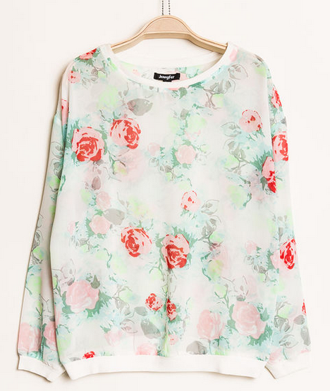 Jennyfer Floral Top