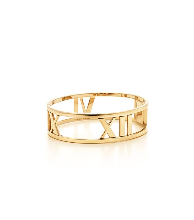 Atlas® Hinged Bangle in 18k gold